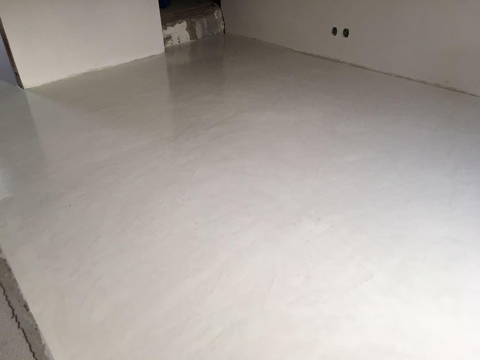 Cement Afwerking Badkamer : Microcement u2013 deco printbeton